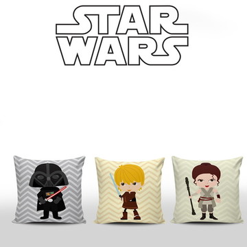 Almofadas Decorativas Quartinho StarWars