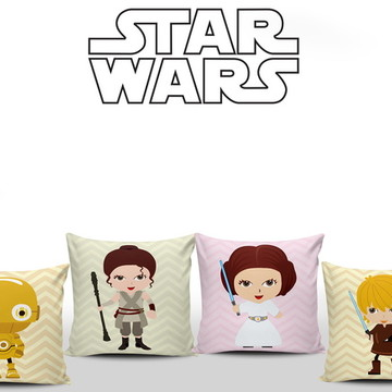 Almofadas Decorativas Star Wars Baby 4un
