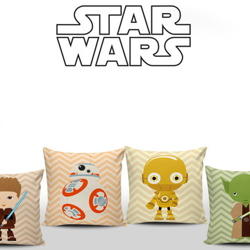Almofadas Quarto Star Wars Baby 4unid