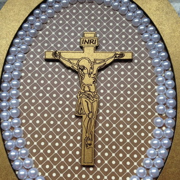 Plaquinha Jesus Cristo Personalizado