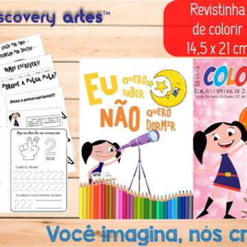 Revista de colorir Show da Luna