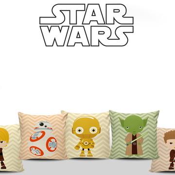 Almofadas Star Wars Baby Decoração 5uni