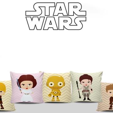 Almofadas Decorativas Star Wars Baby 5un