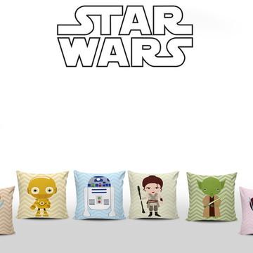 Kit 6 Almofadas Star Wars Baby