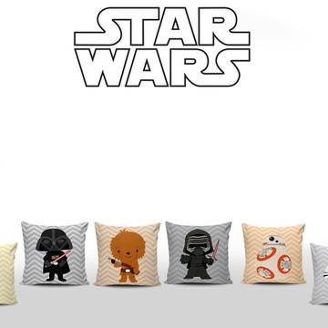 Almofadas Decoradas Star Wars Baby 6unid