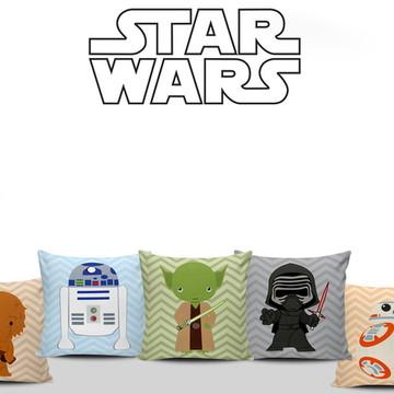 Almofadas Quarto Infantil Star Wars 5uni