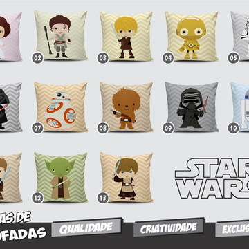 Capa de Almofada Star Wars Baby