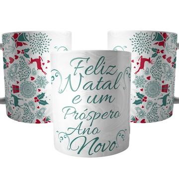 Caneca para Presente de Natal e Ano Novo