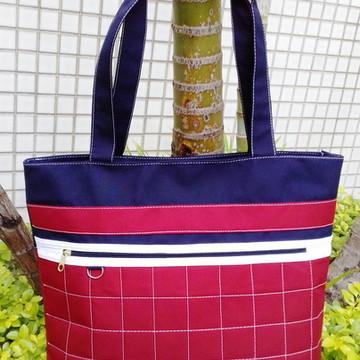 c350656f7 Bolsa Feminina artesanal em tecido