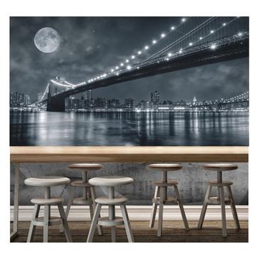 Papel De Parede - Cidade Nova Iorque 2x1m Ny New York S129