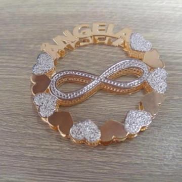 Mandala Personalizada Infinito com Nome