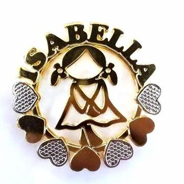 Mandala Personalizada com Nome+Menininha