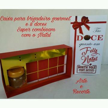 Caixa para doces de natal