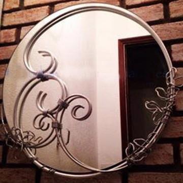 Espelho Redondo - 50cm Diâmetro