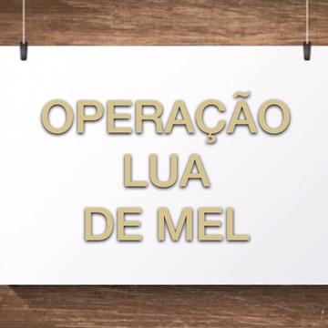 Placa Operação Lua de Mel Personalizada