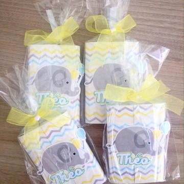 Lembrança Maternidade Elefantinho - Kit Kat Embalado