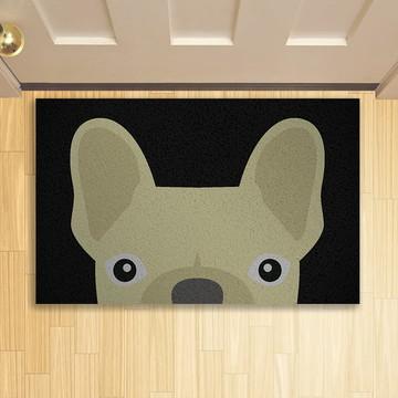 Tapete Capacho Criativo Pet Bulldog Francês