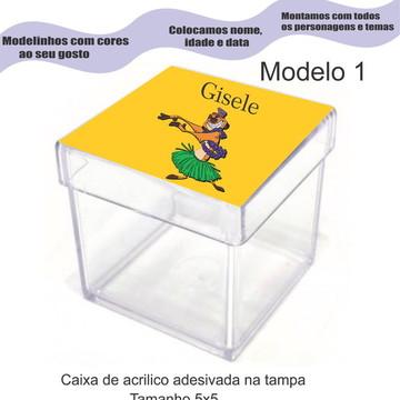 Caixa de acrílico-Timão