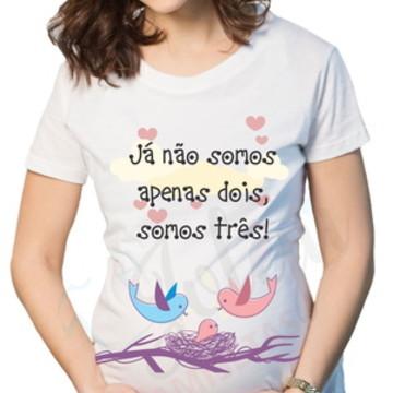 Camiseta Gestação