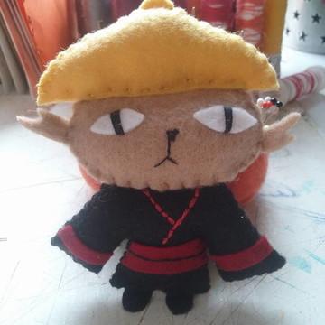 Chaveiro Samurai gato