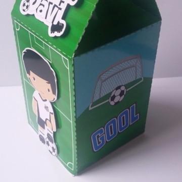 Milk Box tema Futebol