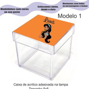 Caixa de acrílico-Jasmim