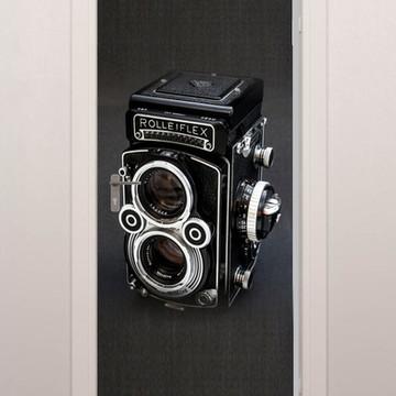 Adesivo Porta Maquina Fotográfica Quarto Sala Banheiro