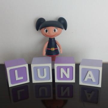 """Cubos Personalizados """"Luna"""""""