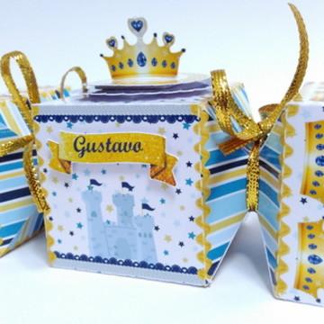Caixa Bala Primeiro Reinado - Coroa Azul