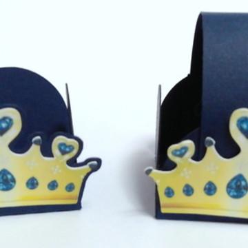 Forminha doce Primeiro Reinado - Coroa Azul