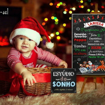 Chalkboard Natal para presente - ARTE DIGITAL