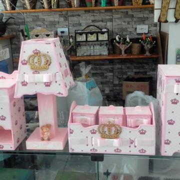 Kit Bebê Tecido Princesa