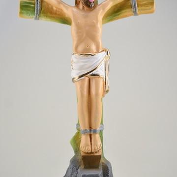 Escultura em gesso São Dimas santo católico