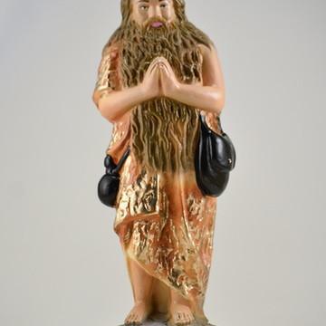 imagem Santo Onofre escultura 100% em gesso natural