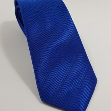 Gravata Azul Royal trabalhada- Promoção