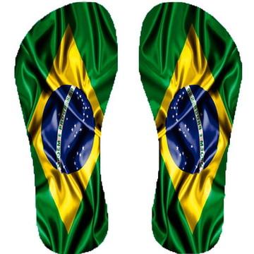 Chinelo Personalizado Brasil