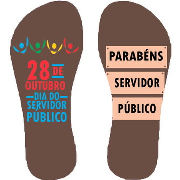 Chinelo Dia do Servidor Público