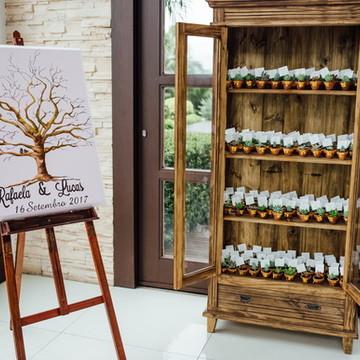 Pintura em Tela - Árvore de assinaturas para casamento