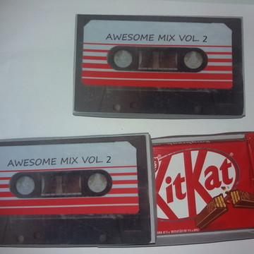 Caixa KitKat - Guardiões da Galaxia