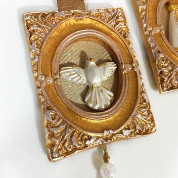 Escapulário de Porta (N. Senhora Aparecida e Espírito Santo)