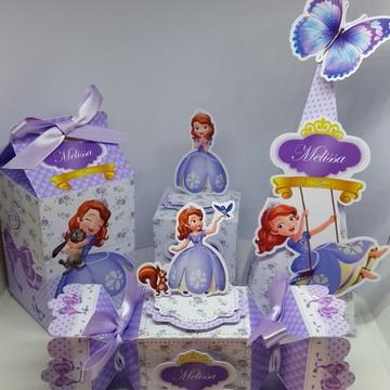 Kit Princesa Sofia