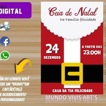 Convite de Natal Digital