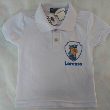 a35b9aeb18 Camiseta Polo Infantil