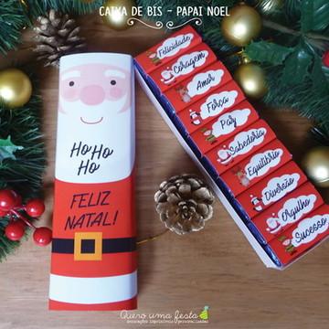 Caixa de Bis Papai Noel - para imprimir