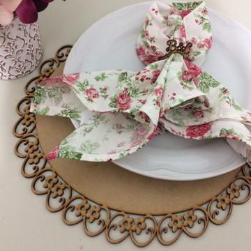 Sousplat Provençal Floral 35cm Mdf