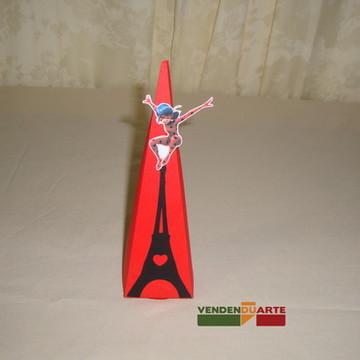 Caixa pirâmide Lady bug - miraculos