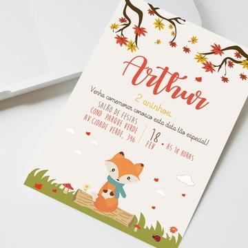Convite Digital Raposa