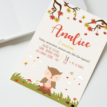 Convite Digital Coruja