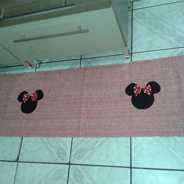 Jogo de tapete 3 peças (Minnie)