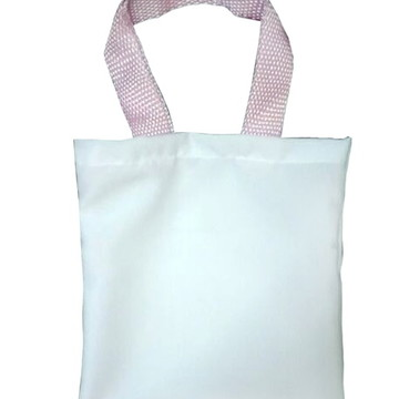 Mini sacola ecobag para sublimar 25x20